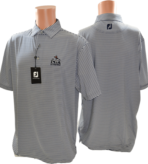 Picture of FOOTJOY LISLE FEEDER STRIPE SELF COLLAR