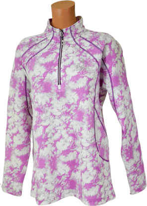 Picture of SUNICE MEGAN SUPERLITEFX STRETCH THERMAL QUARTER-ZIP PULLOVER