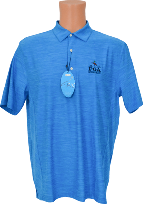 Picture of GREG NORMAN HEATHERED MESH STRETCH POLO