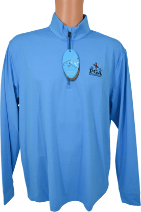 Picture of GREG NORMAN PERFORMANCE STRETCH MICRO STRIPE 1/4-ZIP