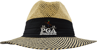 Picture of AHEAD STRAW HAT FEDORA 2-TONE