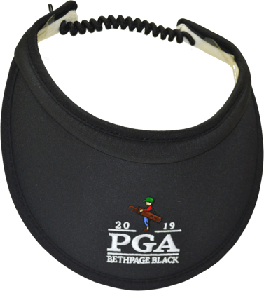 Picture of AHEAD TEXTURED NYLON BUNGIE CORD VISOR WM