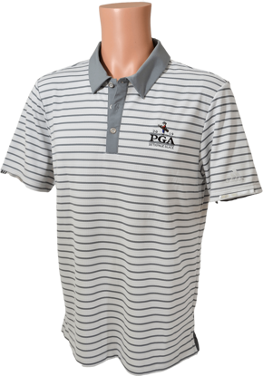 Picture of ADIDAS CLIMACHILL STRIPE POLO