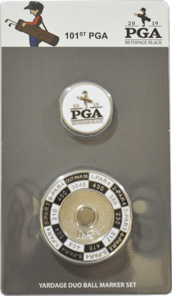 Picture of BALL MARKER - YARDAGE DUO WITH INNER MARK