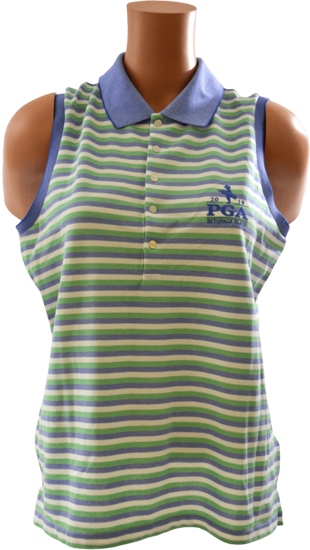 Picture of RALPH LAUREN GK191H10 SL OXFORD STRIPE POLO