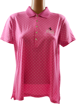 Picture of RALPH LAUREN GK191X10 DIAMOND DOT PRINTED POLO