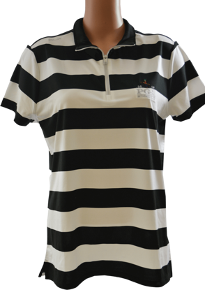 Picture of RALPH LAUREN GK191X08 STRIPED AIRFLOW MOCKNECK POLO