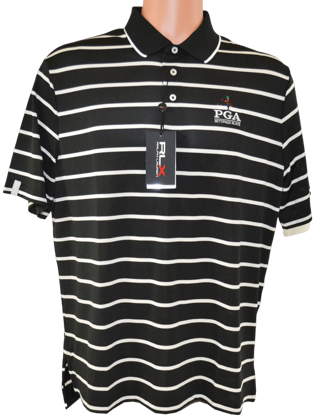 Picture of RALPH LAUREN K191JG04 LTWT STRIPED TECH PIQUE POLO