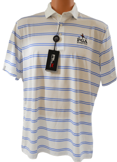 Picture of RALPH LAUREN K191JG15 LTWT YARN DYE AIRFLOW STRIPE POLO