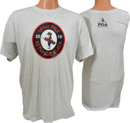 Picture of MENS HEATHER WHITE TEE