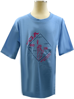 Picture of GARB GIRLS LIBERTY COTTON BASIC TEE