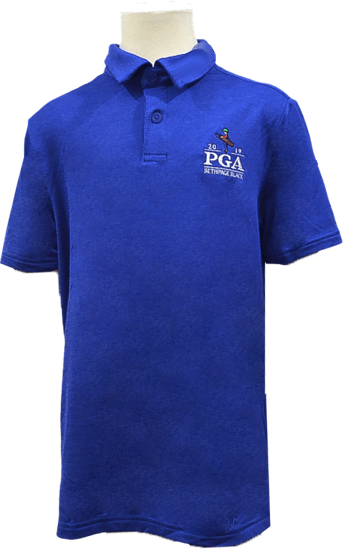 Picture of UA BOYS PLAYOFF 2.0 HEATHER POLO