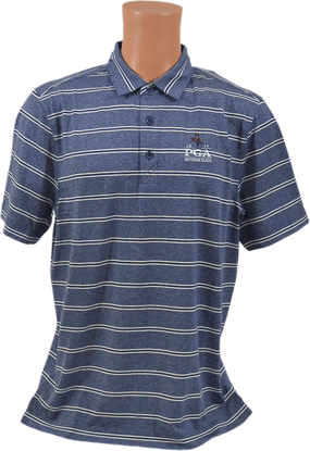 Picture of Cutter & Buck FORGE POLO HEATHER STRIPE
