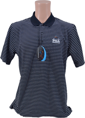 Picture of GREG NORMAN PROTEK MICRO PIQUE STRIPE PLAY DRY POLO