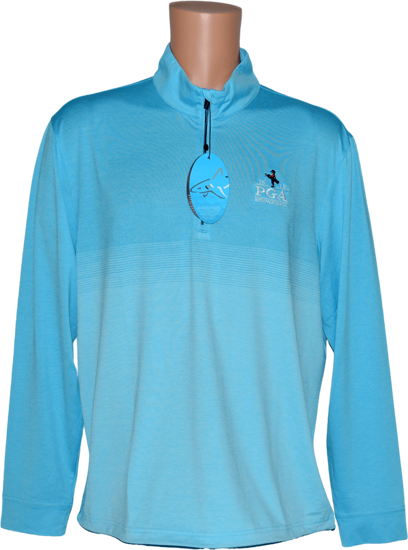 Picture of GREG NORMAN LONG SLEEVE DRAFT 1/4-ZIP STRETCH MOCK