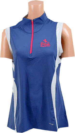 Picture of ANNIKA SWERVE SLEEVELESS MOCK HALF-ZIP