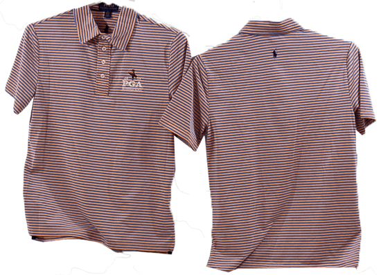 Picture of RALPH LAUREN K191BF04 LTWT FEED STRIPE AIRFLOW POLO
