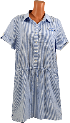 Picture of VINEYARD VINES WOMENS HARBOR SHIRT DRESS