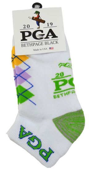 Picture of WOMENS ARGYLE LOW CUT SOCK