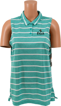 Picture of NIKE WOMENS DRI-FIT STRIPE POLO