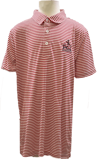 Picture of GARB BOYS RED STRIPE FASHION POLO
