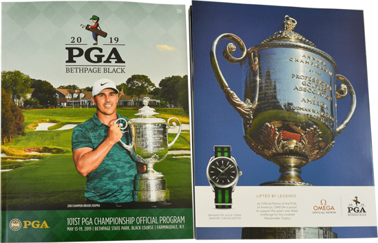 Picture of 101ST PGA CHAMPIONSHIP OFFICIAL PROGRAM