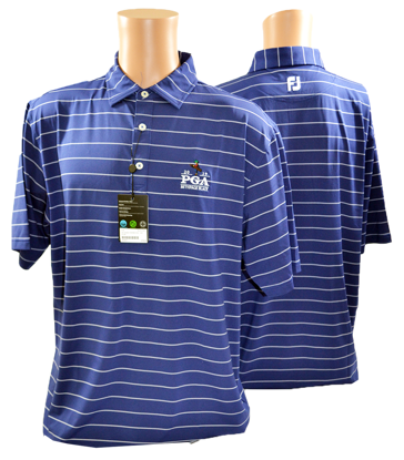 Picture of FOOTJOY LISLE DOUBLE PIN STRIPE SELF COLLAR