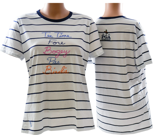 Picture of RALPH LAUREN GK191H25 EMBROIDERED TEE