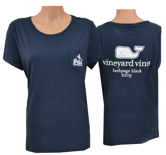 Picture of VINEYARD VINES WOMENS VV SS TEE