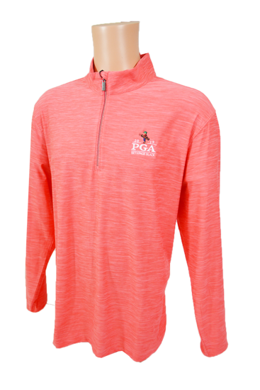 Picture of GREG NORMAN HEATHERED COMFORT STRETCH 1/4-ZIP