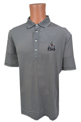 Picture of RALPH LAUREN K191JG09 STRIPED AIRFLOW POLO