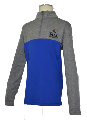 Picture of UA BOYS SCRATCH 1/4 ZIP MOCK
