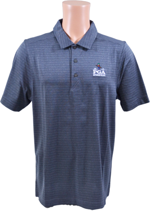 Picture of Cutter & Buck CASCADE MELANGE STRIPE POLO