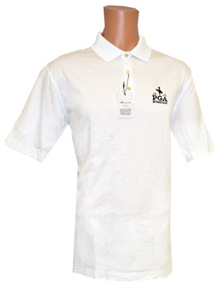 Picture of PETER MILLAR SOLID COTTON LISLE POLO