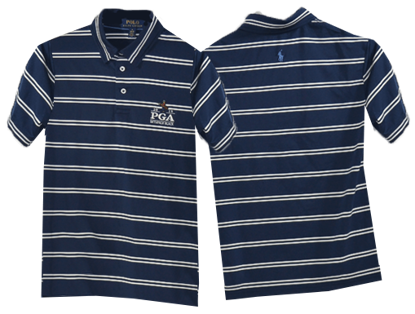 Picture of RALPH LAUREN K191BF06 LTWT YARN DYE AIRFLOW STRIPE POLO