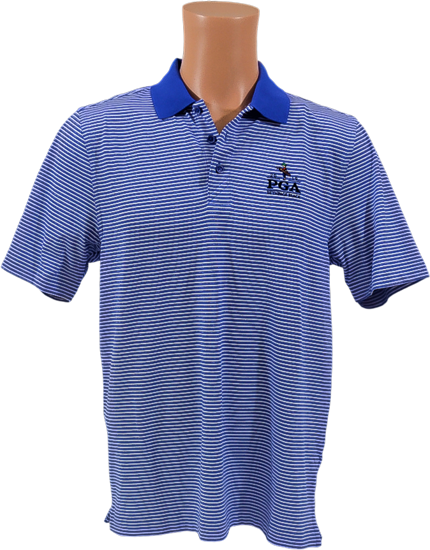 Picture of Cutter & Buck  FORGE POLO TONAL STRIPE