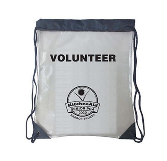 Picture of 2020 Kitchenaid Senior PGA Championship Clear Volunteer Drawstring Bag