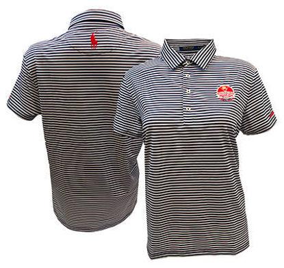 Picture of 2020 Kitchenaid Senior PGA Championship Women's Volunteer Ralph Lauren Airflow Stripe Knit Golf Shirt