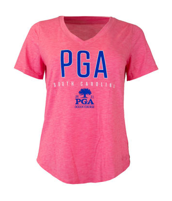 Picture of UNDER ARMOUR WOMENS BREEZY V NECK