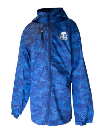 Picture of GARB YOUTH CAMO RAIN JACKET