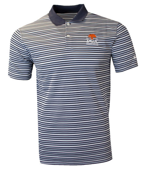 Picture of NIKE VICTORY STRIPE POLO OLC (BLACK)