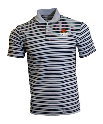 Picture of NIKE VICTORY STRIPE POLO OLC (GREY)