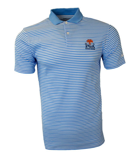 Picture of NIKE VICTORY STRIPE POLO OLC (BLUE)