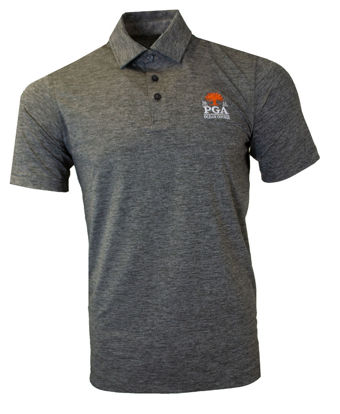 Picture of VINYARD VINES MENS POLO (CHARCOAL)