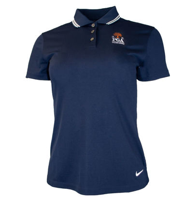 Picture of NIKE VICTORY SOLID SS POLO (NAVY)